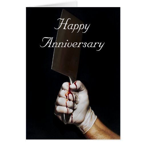 Happy Anniversary...with a difference Greeting Card