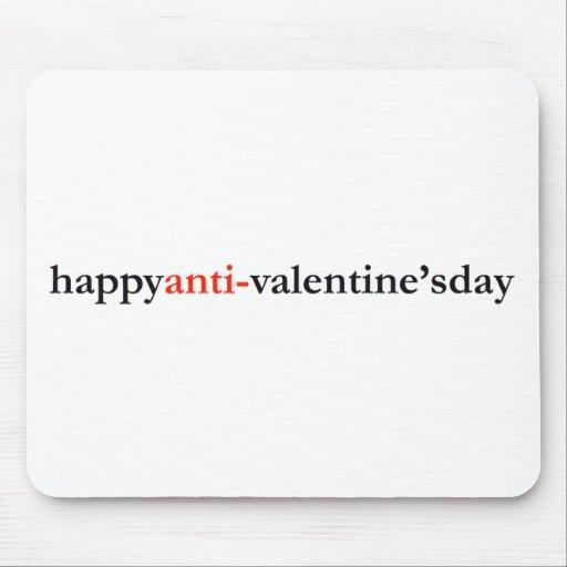 happy anti-valentine's day mousepads