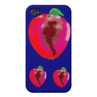 happy apple iPhone 4/4S cases
