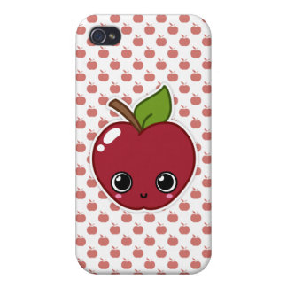 Happy Apple iPhone Case iPhone 4 Cover