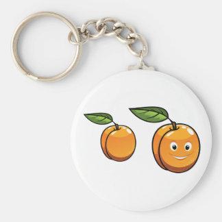 Happy Apricot Keychain
