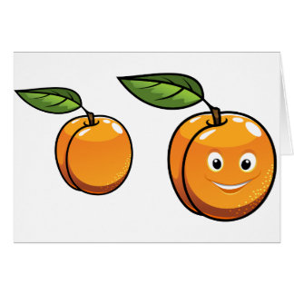Happy Apricot Note Cards