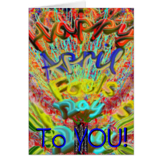 Happy April Fool s Day 2014 Card