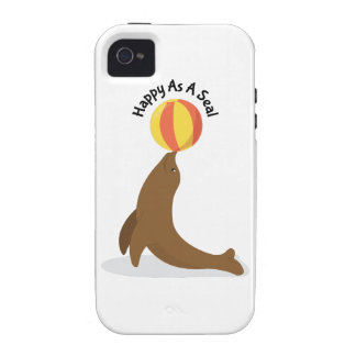 Happy As Seal iPhone 4/4S Case