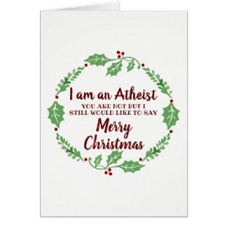 Happy Atheist Christmas Card