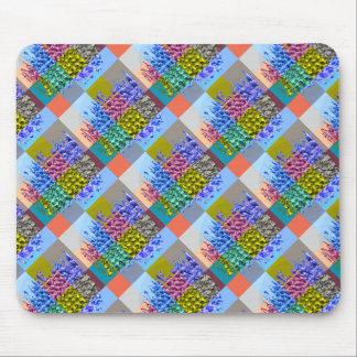 Happy AURA Graphics : Silken Jewel Moziac Mouse Pad