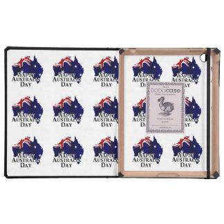 Happy Australia Day iPad Folio Case