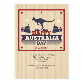 Happy Australia Day Invitation