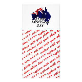 Happy Australia Day Picture Card