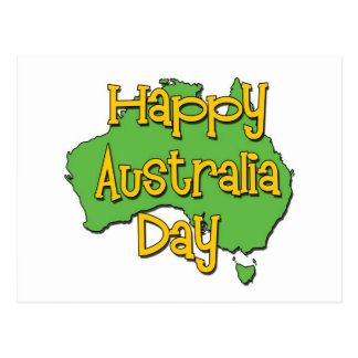 Happy Australia Day Postcard
