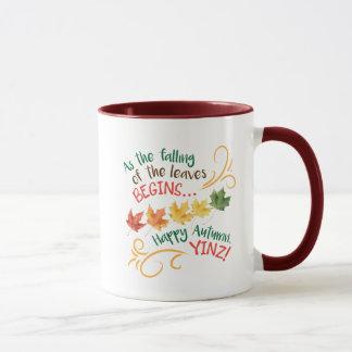 Happy Autumn, Yinz! Design Mug
