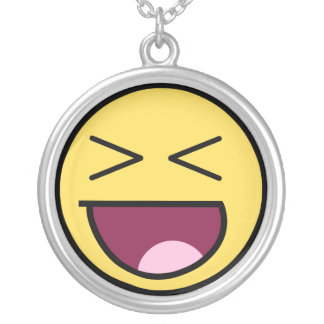 Happy Awesome Face Necklace