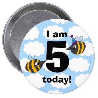 Happy B-Day 10 Cm Round Badge