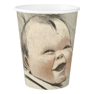 Happy Babies Paper Cup