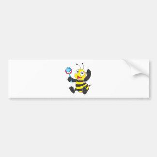 Happy Baby Bee Bumper Sticker