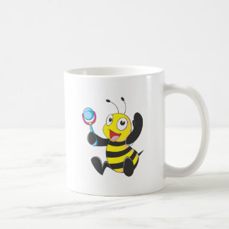 Happy Baby Bee Coffee Mugs