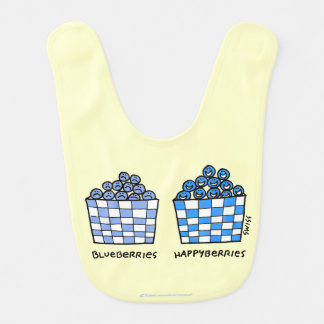 Happy Baby Blueberries Happyberries Bib