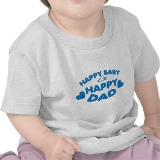 HAPPY baby Happy DADDY T-shirts