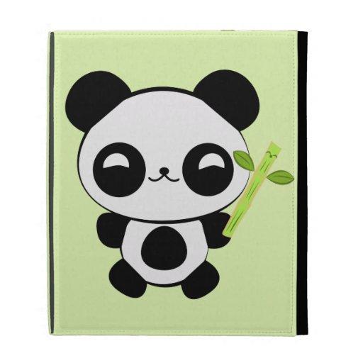 Happy Baby Panda iPad Case