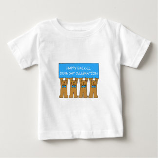 Happy Baek-il 100th Day Celebration Baby T-Shirt