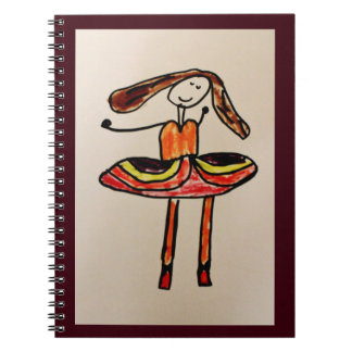 Happy Ballerina Notebooks