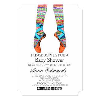 "Happy ballet baby shower invitation 5"" x 7"" invitation card"