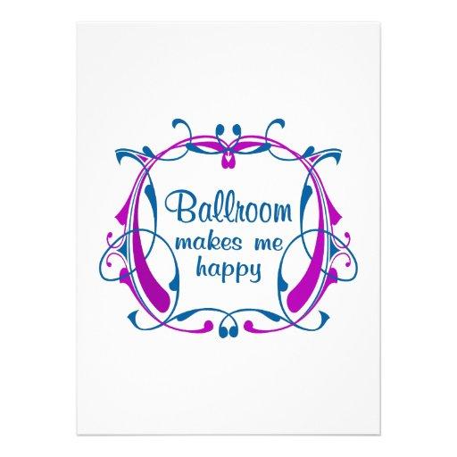 Happy Ballroom Invites
