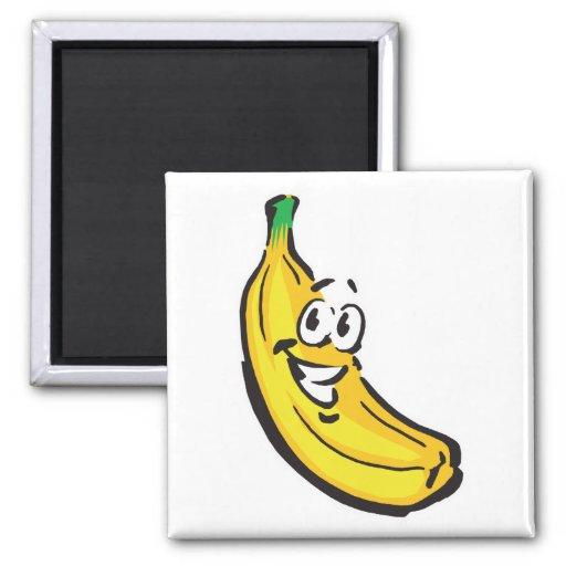 happy banana refrigerator magnet