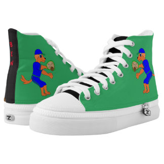 Happy Baseball by The Happy Juul Company Printed Shoes