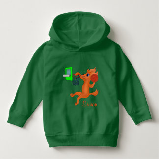 Happy Basketball by The Happy Juul Company Hoodie