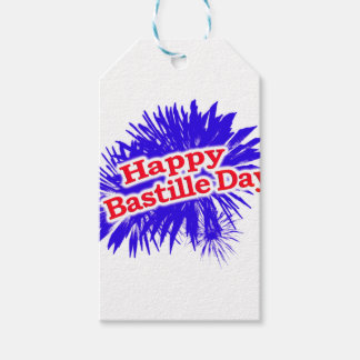 Happy Bastille Day Graphic Gift Tags
