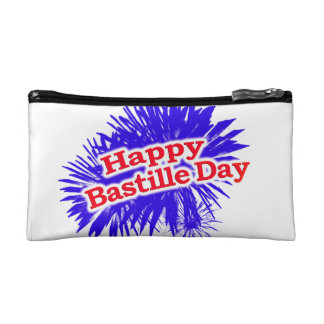 Happy Bastille Day Graphic Makeup Bags