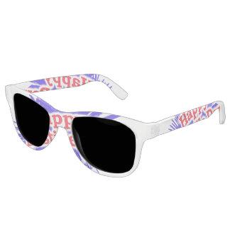 Happy Bastille Day Graphic Sunglasses