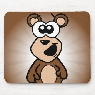 Happy Bear Mouse Pad