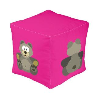 Happy bear pouf