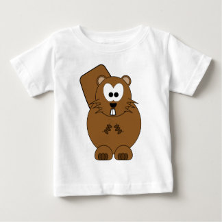 Happy Beaver Baby T-Shirt