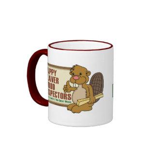 Happy Beaver Drinkware 1 Ringer Mug