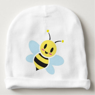 Happy Bee Baby Beanie