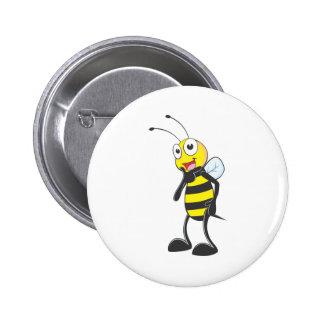Happy Bee Pins