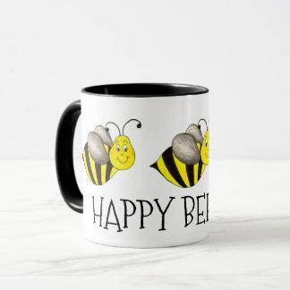 Happy Bee-Day Bumblebee Bday Bee Birthday Gift Mug