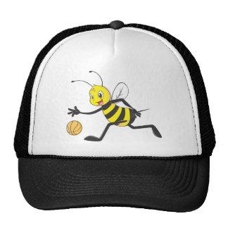 Happy Bee Dribbling Mesh Hats