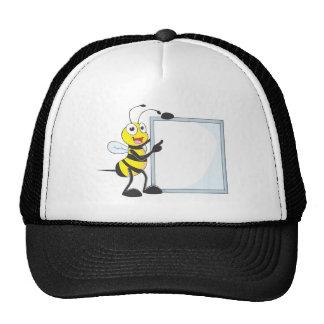 Happy Bee Mesh Hats