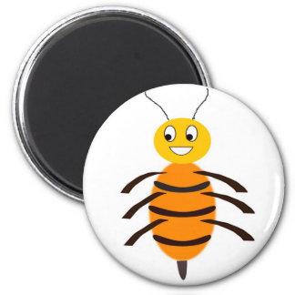 Happy Bee Refrigerator Magnets