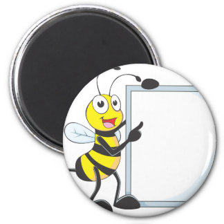 Happy Bee Magnets
