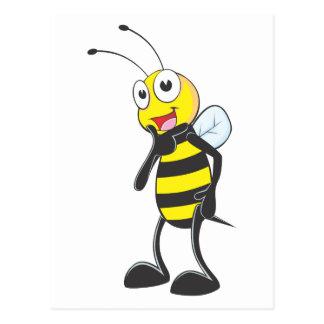 Happy Bee Postcard