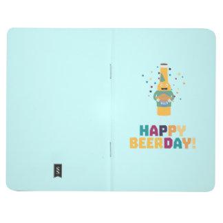 Happy Beerday Beerbottle Zhnp3 Journal