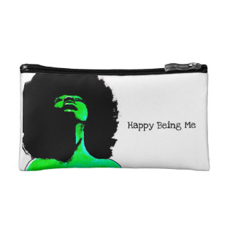 Happy Being Me Cosmetic Bag Clutch