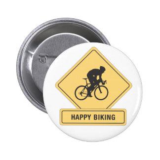Happy Biking button