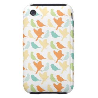 Happy Birds Tough iPhone 3 Case