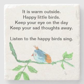 Happy Birds Coaster